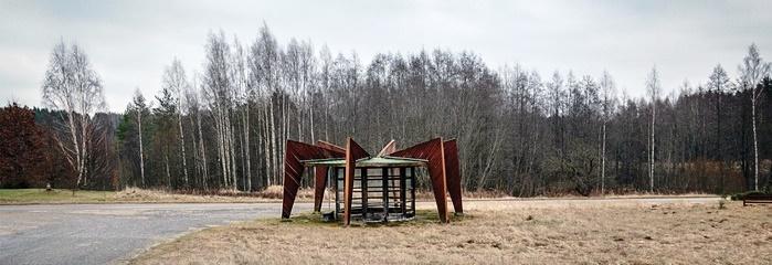 Soviet Bus Stop - Niitsiku, Estonia - 540