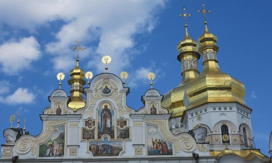 IMG_7619 - cathedral at Kyevo-Pecherska Lavra - 540