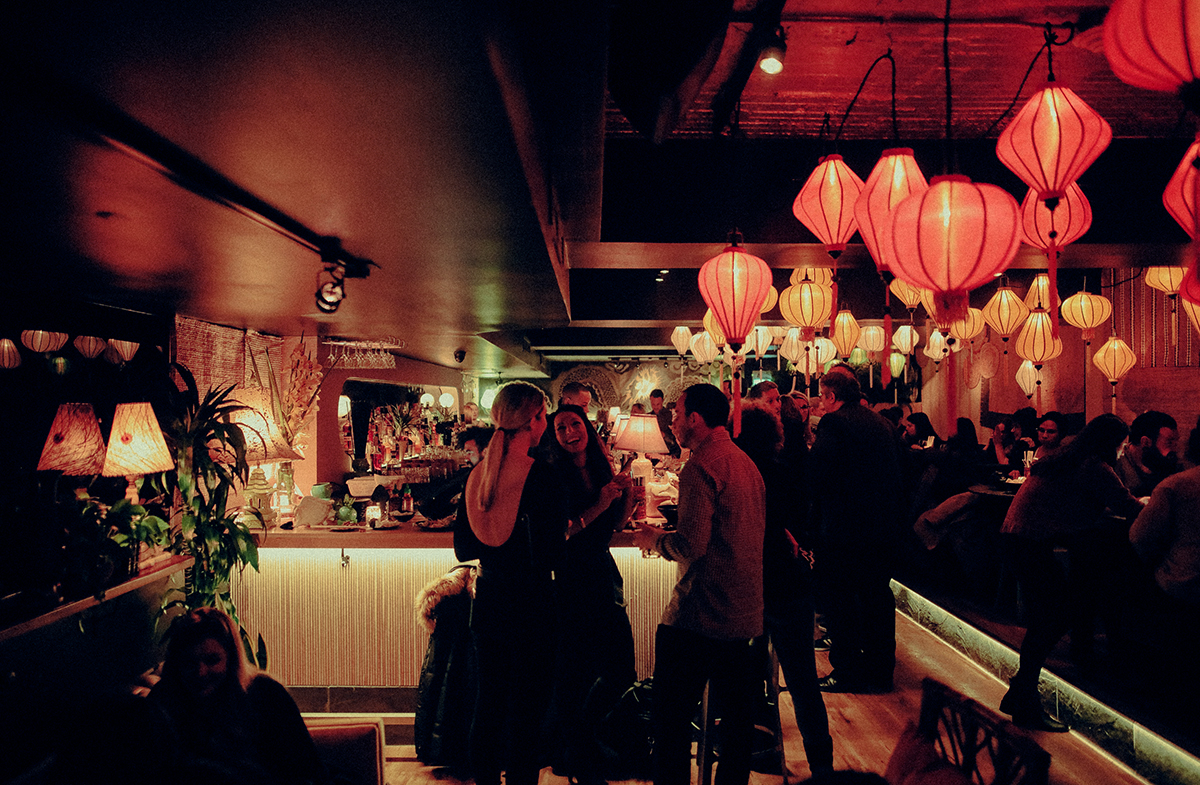 Old Montreal Restaurants - NHAU speakasy bar old montreal - Where to Eat in Old Montreal