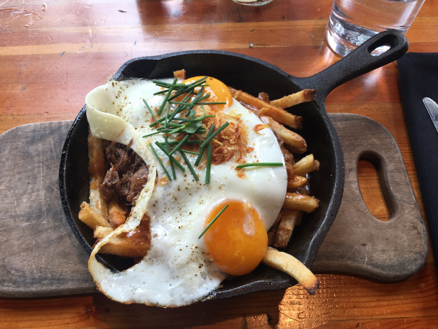 fancy poutine brunch