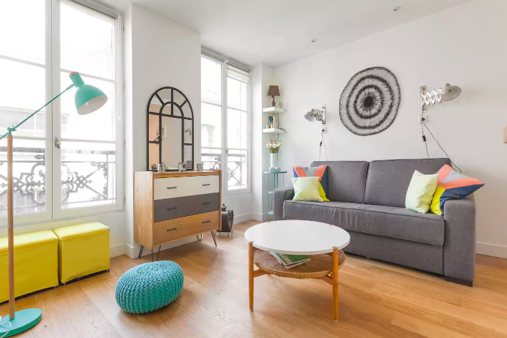 Romantic AirBNBs in Paris - Airbnb near the Louvre